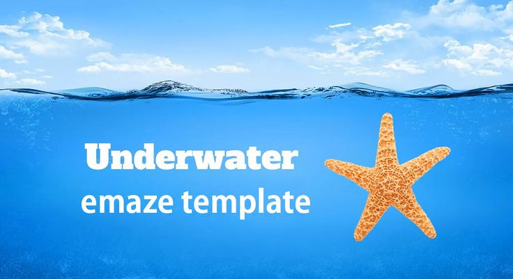Underwater emaze template
