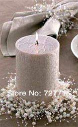 135 CM Mix ouro e prata ( cada ) pérola cadeia peça central do casamento flor / decoração de mesa em Flores & coroas decorativas de Casa & jardim no AliExpress.com | Alibaba Group