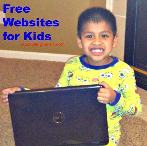 11 Free Websites for Kids http://www.stockpilingmoms.com/2013/06/11-free-websites-for-kids/