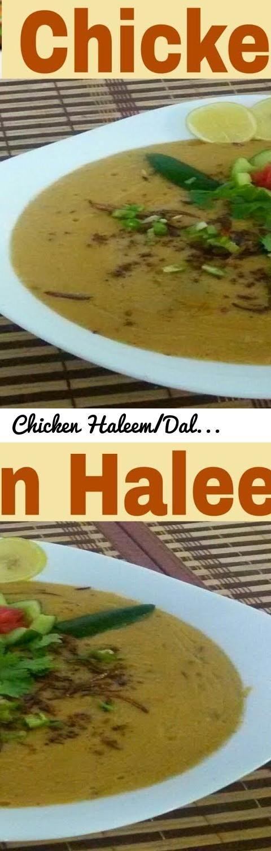 Chicken Haleem/Daleem Recipe(In Urdu/Hindi)How To Make Chicken Haleem In  Professional Style At Home... Tags: Chicken Haleem, Chicken Haleem Recipe,  Haleem, ... Good Looking