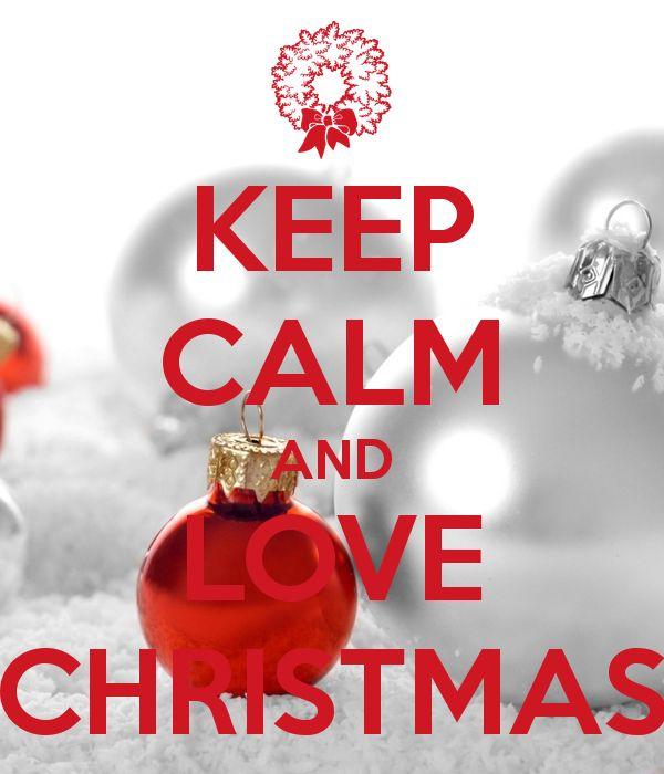 Love Quotes Xmas: Keep Calm Christmas Quotes. QuotesGram
