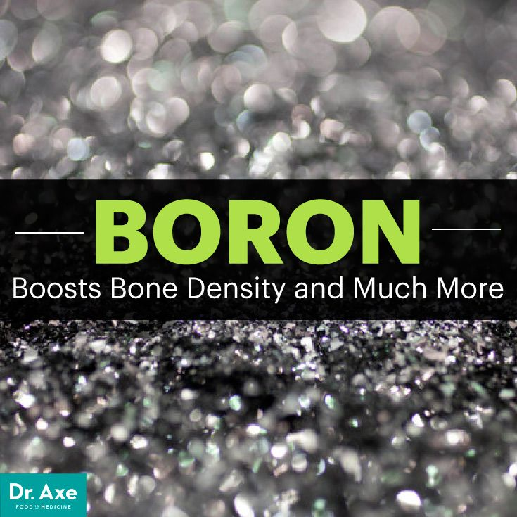 Boron Boosts Bone Density and Much More