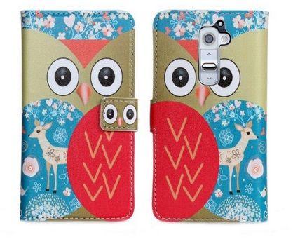 OEM Δερμάτινη Θήκη Owl Case Stand Καφέ (LG G2) - myThiki.gr - Θήκες Κινητών-Αξεσουάρ για Smartphones και Tablets - Owl watch