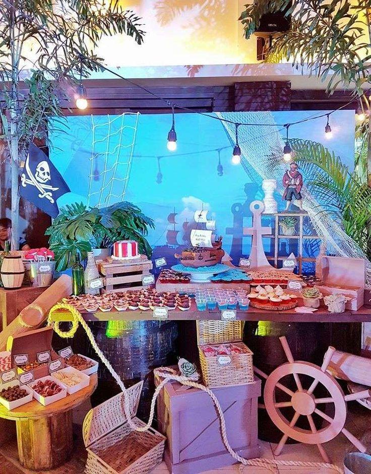 PIRATES Birthday Party Ideas   Photo 2 of 45