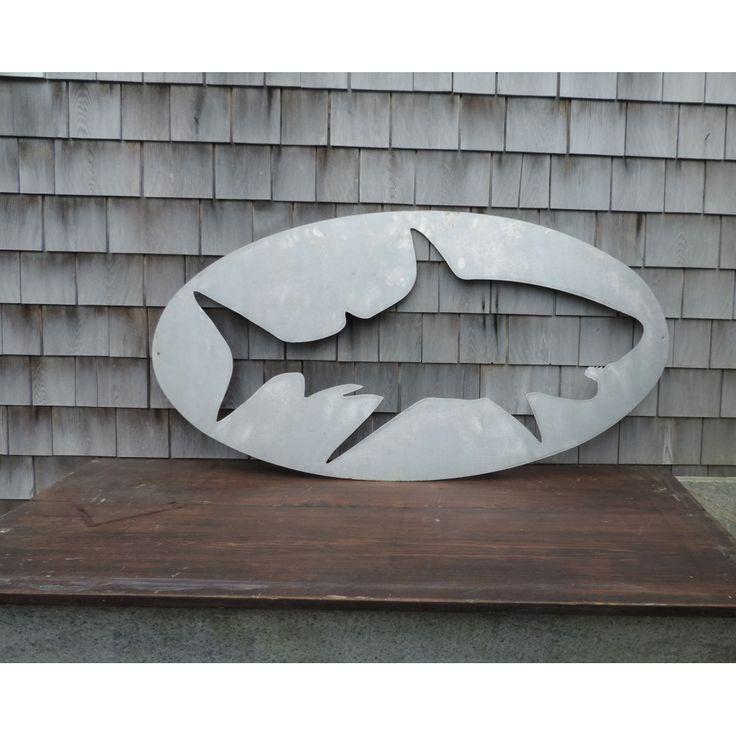Wall art - metal shark cut out | Shop Water and Main ...