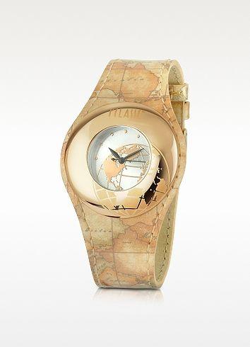 1a Prima Classe - Ladies Geo Patent Strap Bracelet Watch - Alviero Martini 1A Classe