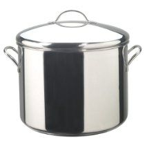 Farberware Classic 16-Quart Stainless-Steel Stockpot with Lid