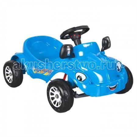 Pilsan Педальная машина Happy Herby  — 3730р. ------------------  Благодаря легкости в использовании, малыш может кататься на такой машине самостоятельно, почувствовав себя настоящим водителем. Эта симпатичная и надежная машинка не зависит от батарей и источников питания, поэтому идеально подходит для прогулок по городу или во дворе, а также и для игры в помещении.  Педальная машина Pilsan Happy Herby с большими добрыми глазами и приветливой улыбкой, совершенно безопасная для малыша…