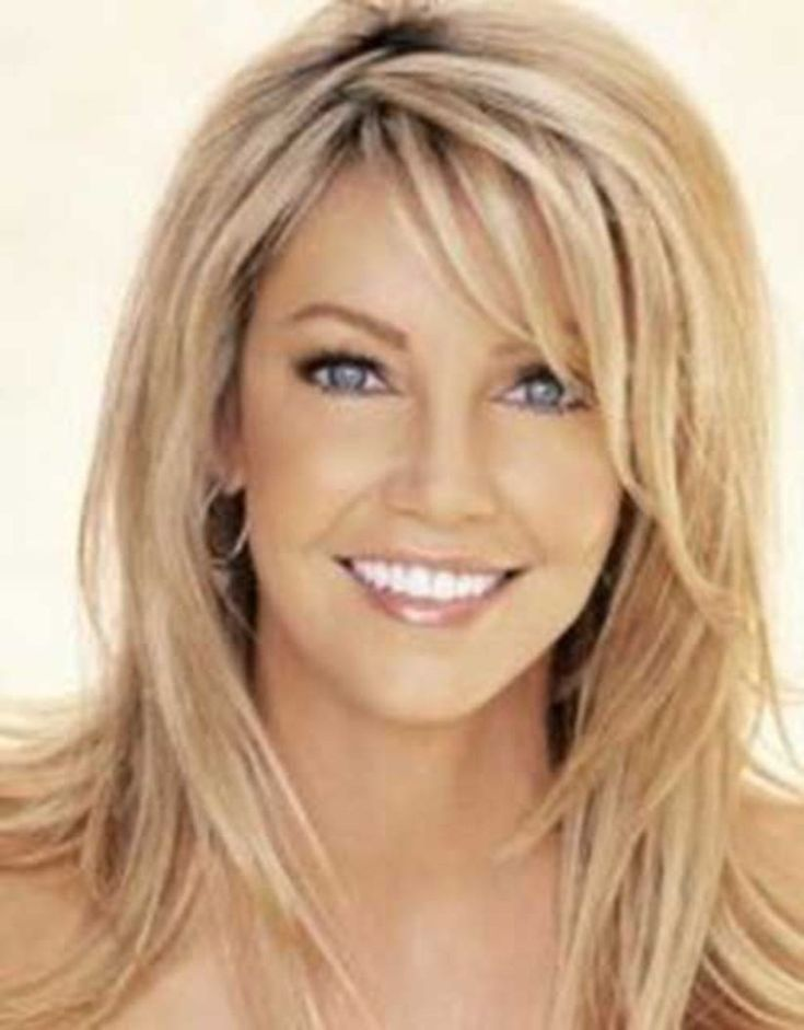 lange Haarmodelle - Best Long Face Hairstyles For Women ...