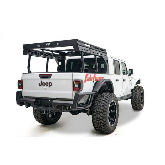 Fab Fours Overland Rack For 2020 Jeep Gladiator Jt Jeep Gladiator Jeep Overlanding
