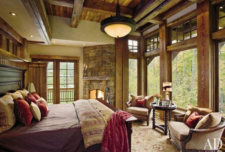 Rustic Bedroom by Locati Interiors and Locati Architects ...