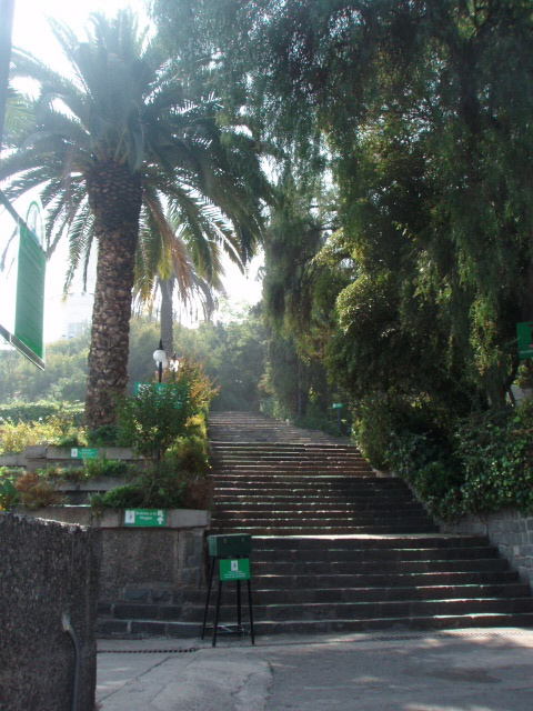 San Cristobal, Santiago Chile.