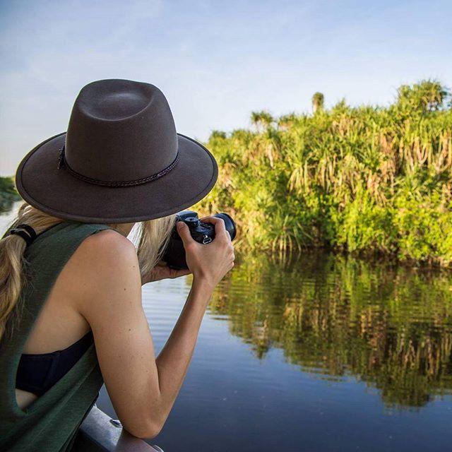 Adoring pure beauty in Kakadu.  #australia #kakadu #river #beauty #nature #morning #sunset #hat #photographerlife #livethelittlethings #blogtrotters #polishblogger #travel #travelblog #roadtrip #northernteritory #outback #birds #crocs