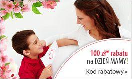 Dzień Matki z Lampy.pl - rabat 100 zł przy min. zak. 400 zł na produkty marki LampenweltCOM