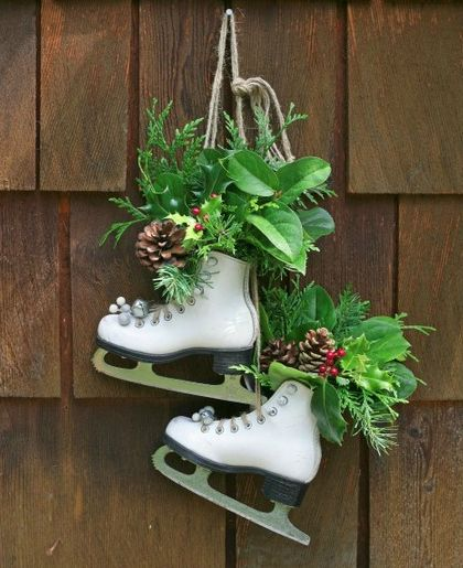 Christmas Ice Skating Rink Decoration: 37 Best Images About DIY Skating And Hockey Ideas On