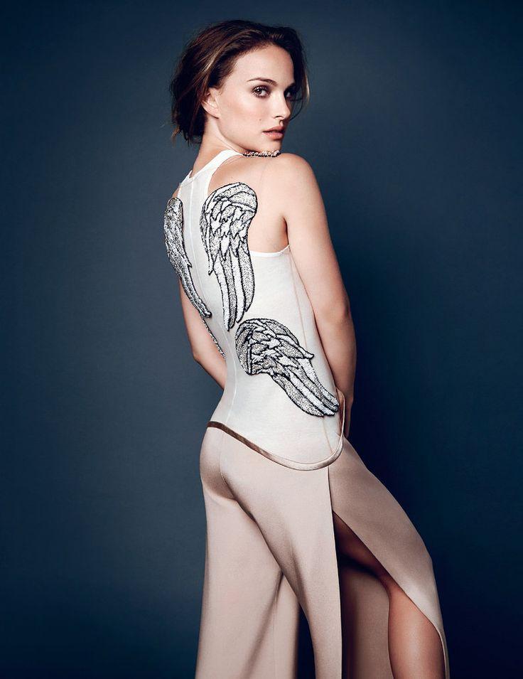 Натали Портман — Фотосессия для «Elle» UK 2013 – 6