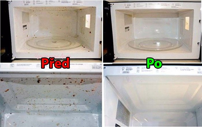 Máte špinavou mikrovlnku? Vyzkoušejte ji vyčistit podle tohoto jednoduchého, rychlého a hlavně efektivního návodu.
