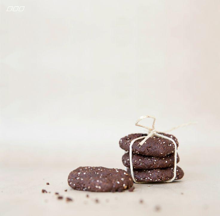 Chocolate Almond Cookies [Move Nourish Believe]