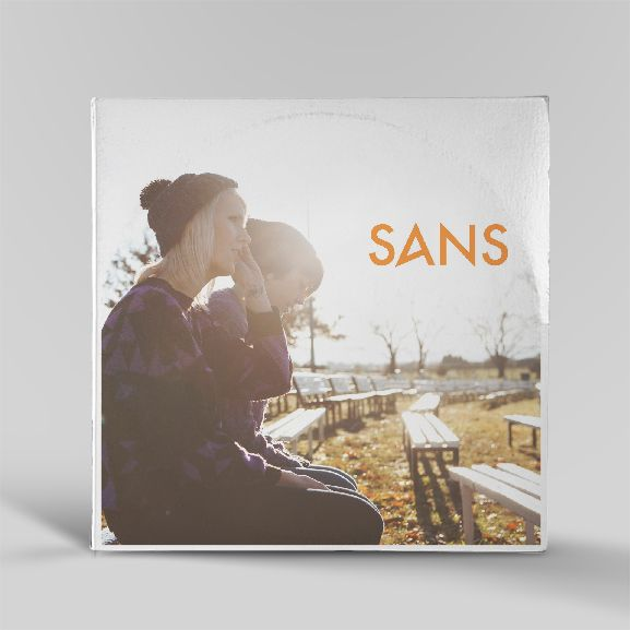 Record sleeve designed by www.littlevoicescreative.com for sansband.bandcamp.com