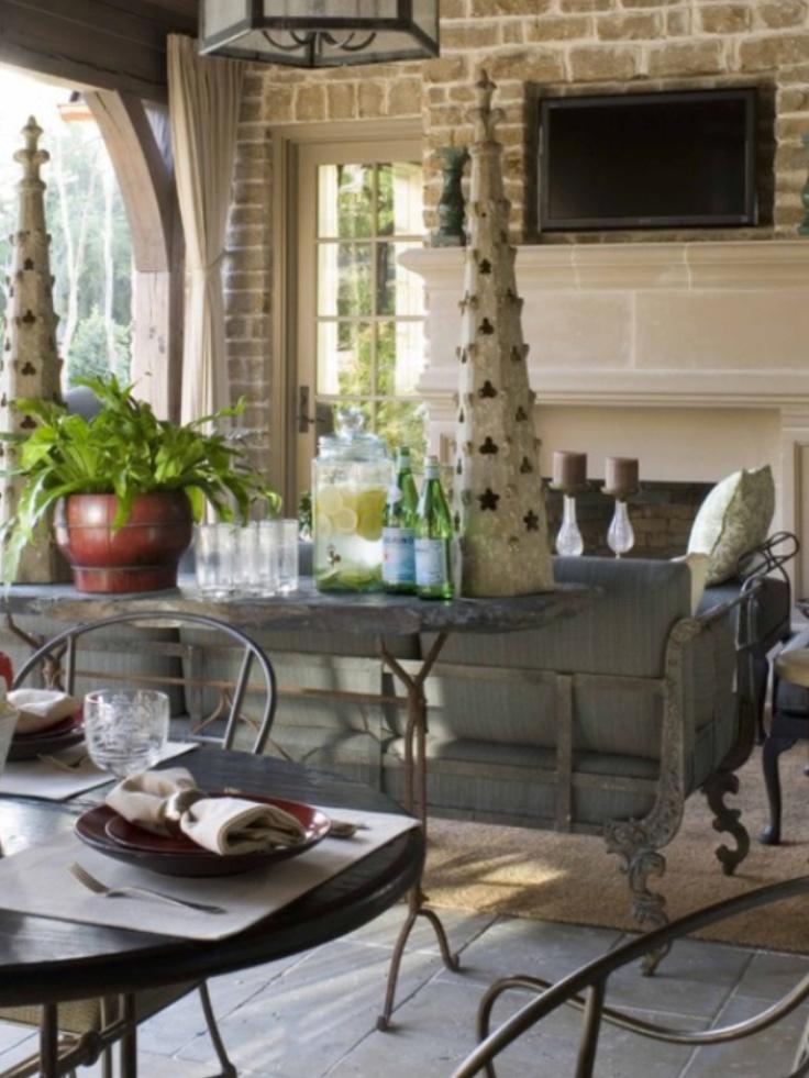 Houzz.com | Outdoor rooms, Outdoor living rooms, Outdoor ... on Houzz Outdoor Living Spaces id=24048