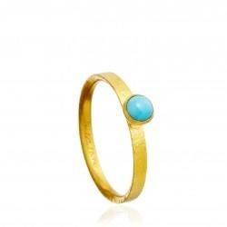 Turquoise Stacking Ring De voi fi cerută, mă voi da. Pe o peruzea.