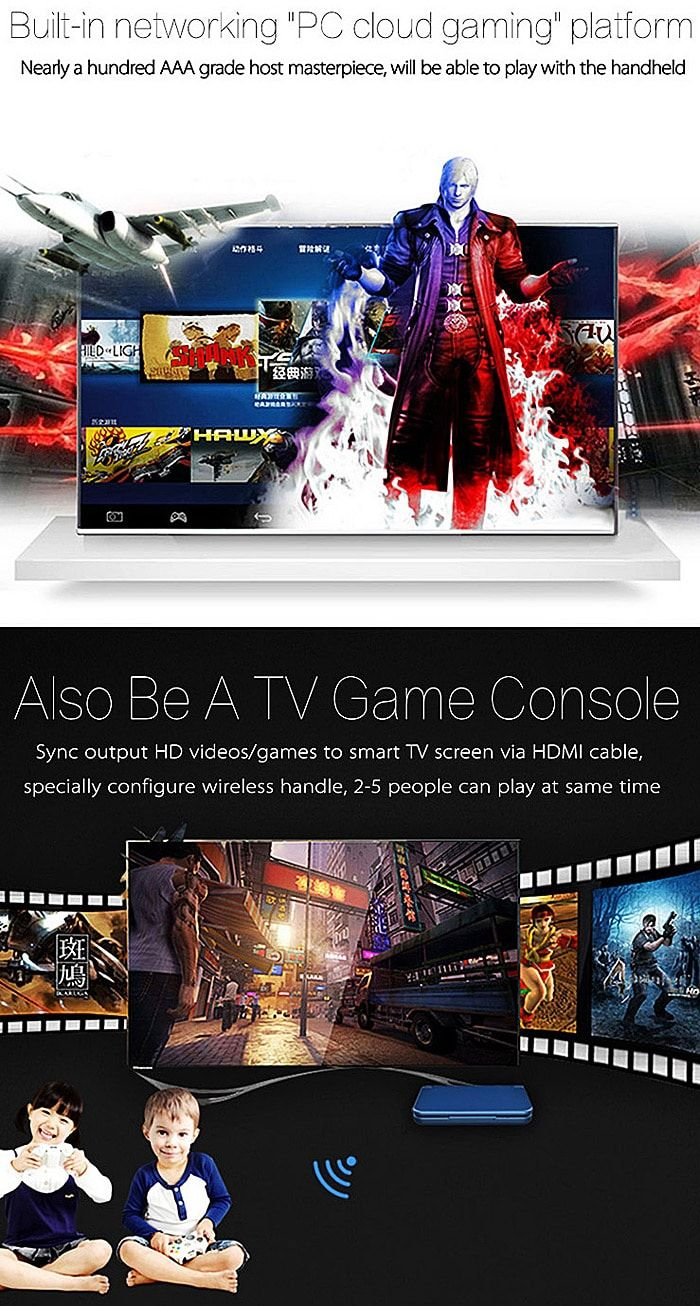 5 inch Gpd XD Game Tablet PC 32GB+US PLUG-$181.42 Online Shopping| GearBest.com