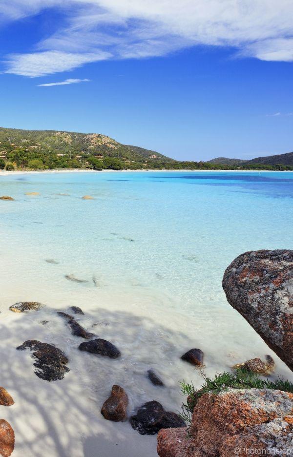 Sublime plage et eau turquoise. Les vacances de rêves !!!