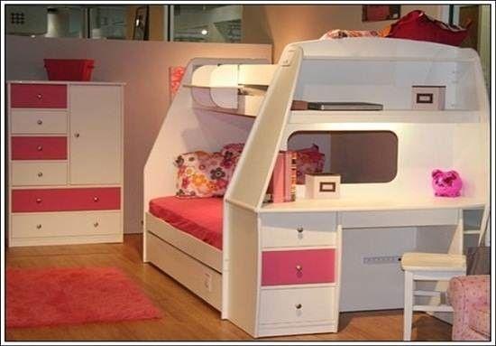 Jual Tempat Tidur Tingkat Untuk Anak Perempuan atau Untuk Anak Cewek Dengan Bahan Kayu mahogny Berkualitas atau dengan bahan kayu Jati Berkualitas