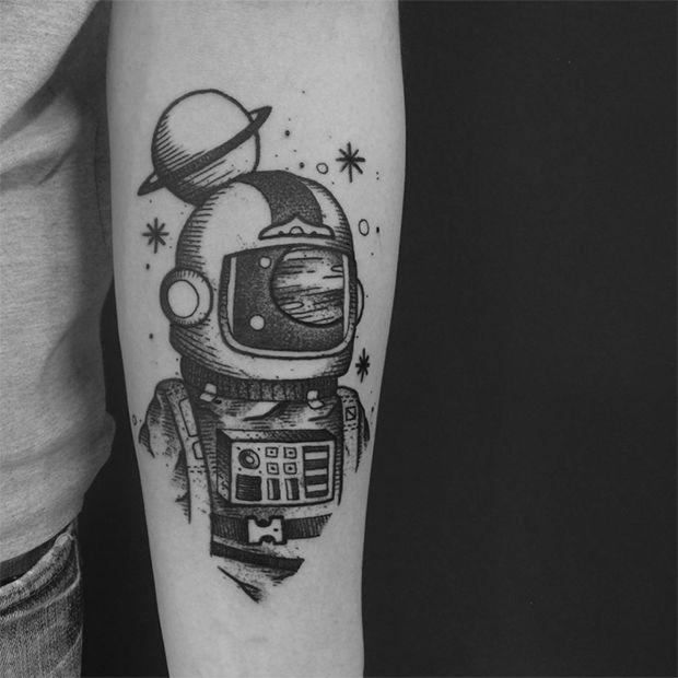 Tatuagens em Blackwork por Daniel Griza, Porto Alegre (RS);