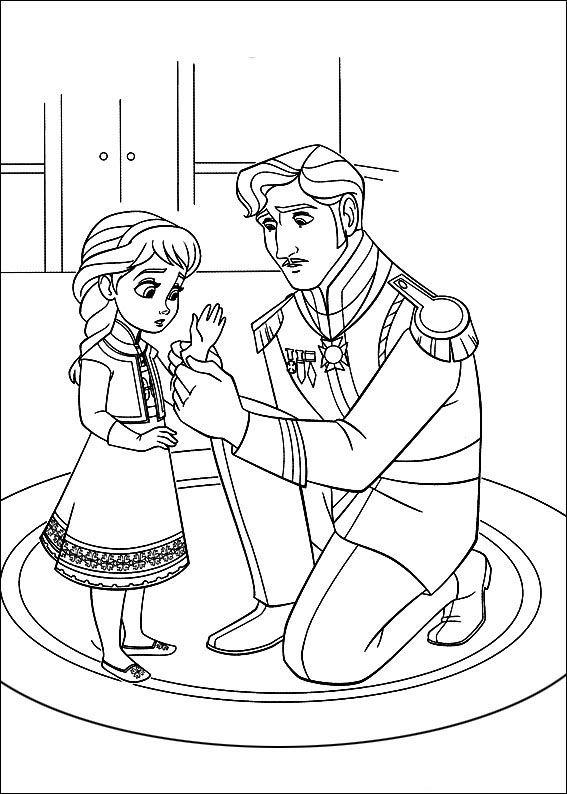 Frozen 17 Dibujos Faciles Para Dibujar Para Ninos Colorear Malvorlage Prinzessin Ausmalbilder Malvorlagen Eiskonigin
