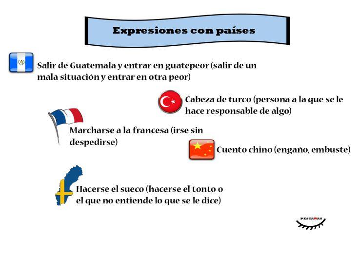 Expresiones con países (I)
