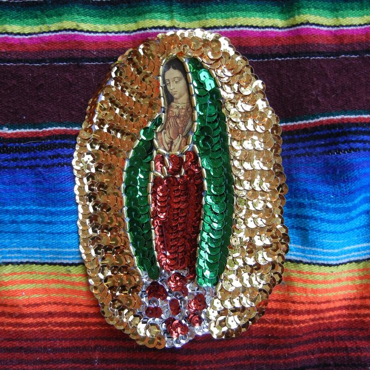 ~Nuestra Señora de Guadalupe sew-on patch~