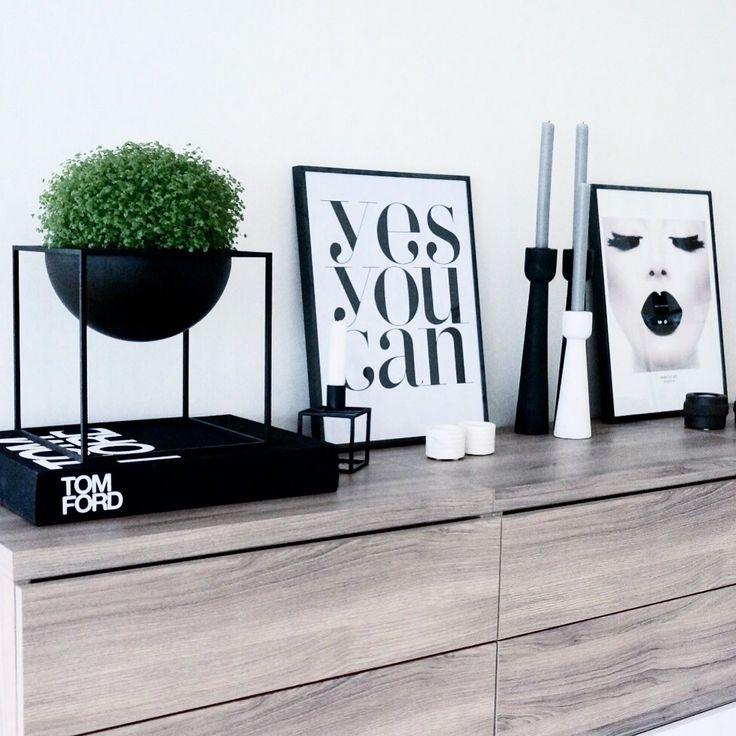Instagram: @hvitelinjer ✨ Interior | Scandinavian Style | Kubusbowl | Bylassen | Tomford
