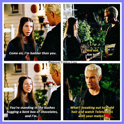 Dawn and Spike - Buffy the Vampire Slayer