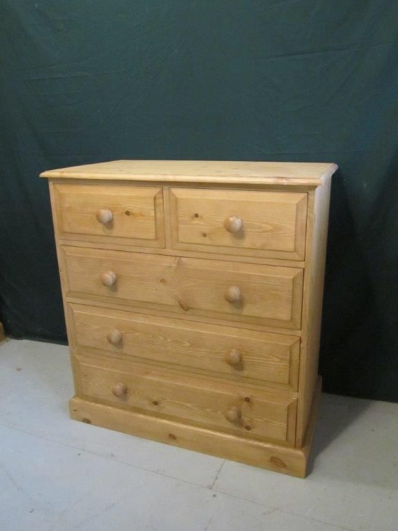 Pine chest of drawers - R Froud Pine Furniture