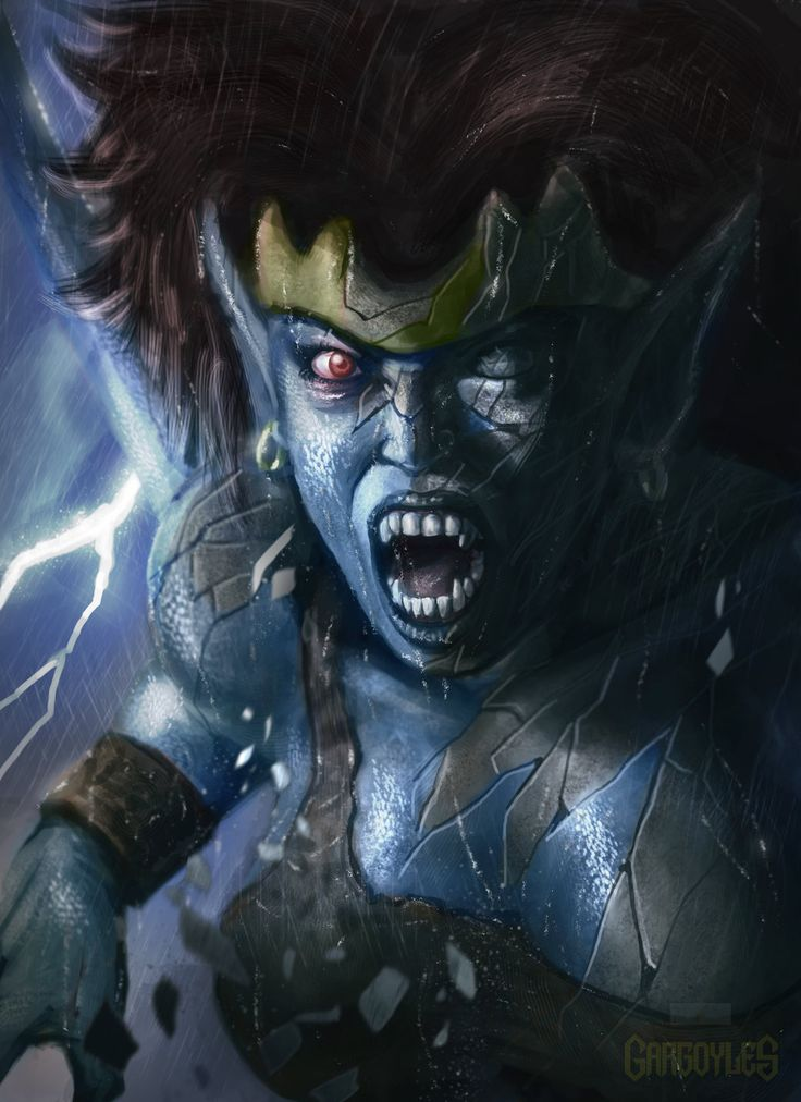 Gargoyles 90's cartoon-Demona by ~DigitalTofu on deviantART