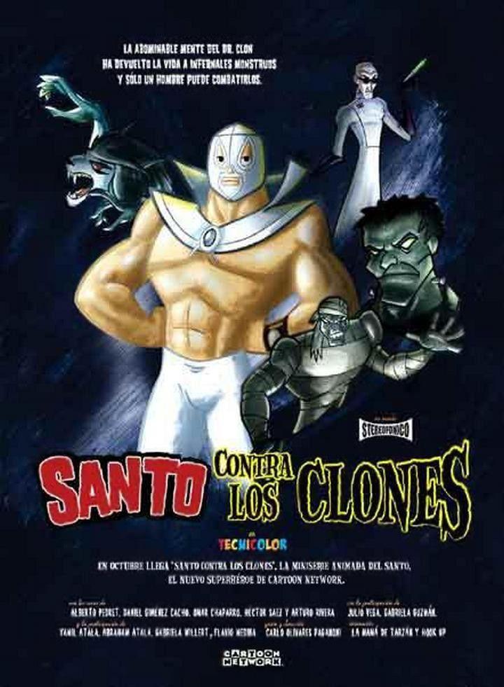 #Realidades2-5A un acto heróico En Santo contra los clones, el Enmascarado de Plata lucha contra las lobas, las momias y varios enemigos más. Pero, ¿quién está detrás de todo esto?