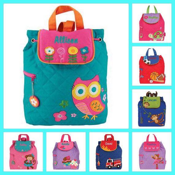 Kids backpack toddler back back toy bag by FallenStarCoutureInc