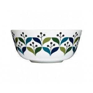 Retro breakfast bowl by sagaform @mosliving