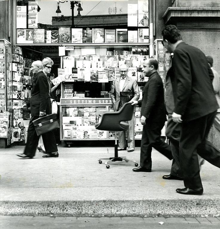Kilta chair design Olli Mannermaa (1955) - on the 1960s at the Milan Design Week