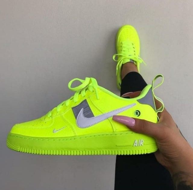 nike zapatillas mujer neon