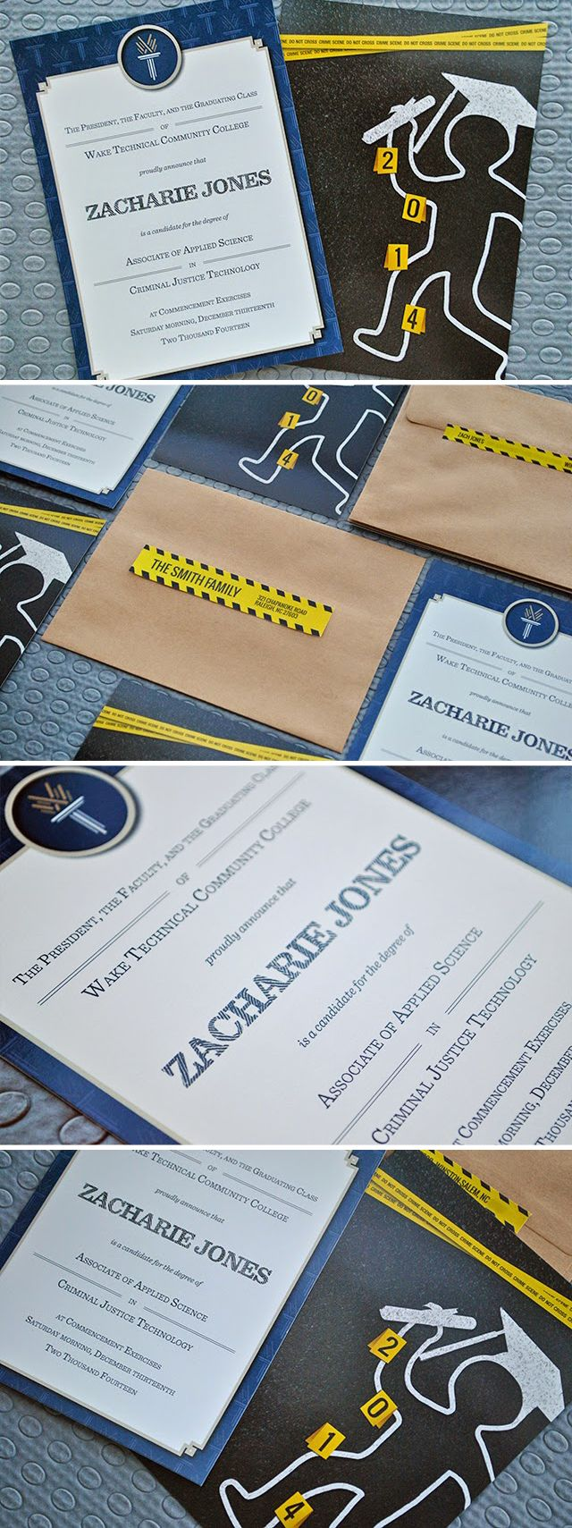 17 best ideas about criminal justice graduation criminal justice graduation announcements