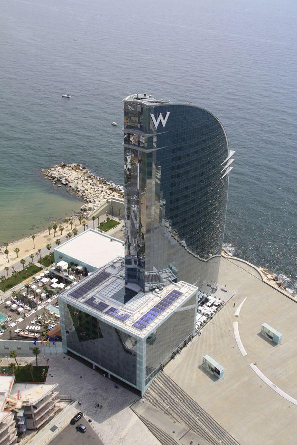 Hotel W - Barcelona by Aerofotoline.com