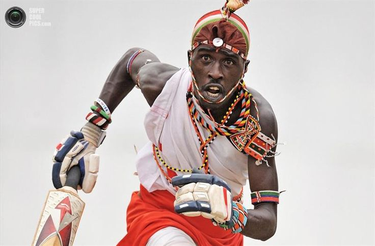 Кения масаи крикет костюм