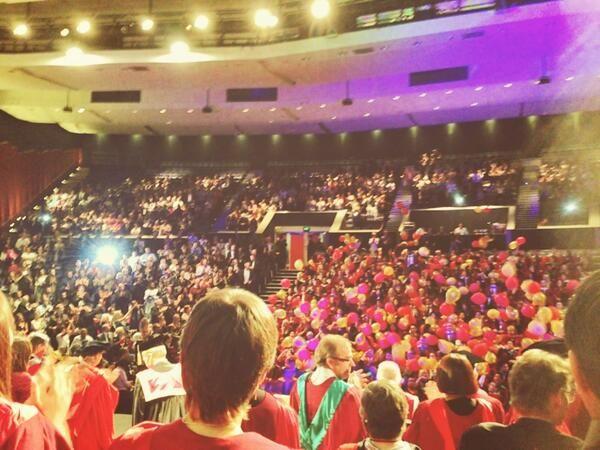 Graduation image from Murdoch University graduate Jim Caro, 12th September 2013