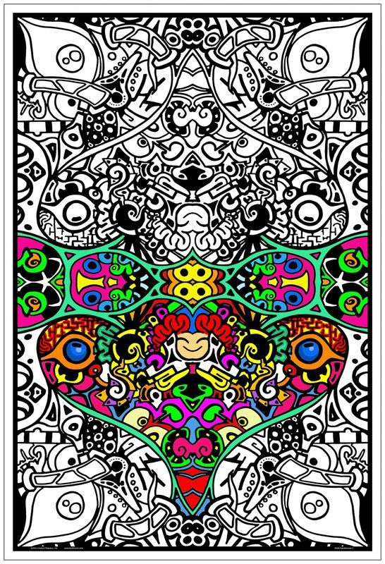 Celtic Velvet Coloring Posters Adults - Clipart Library •