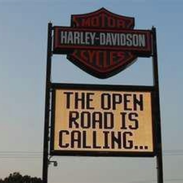 Maybe now, maybe later, the open road is always calling for you...  Harley-Davidson of Long Branch  www.hdlongbranch.com