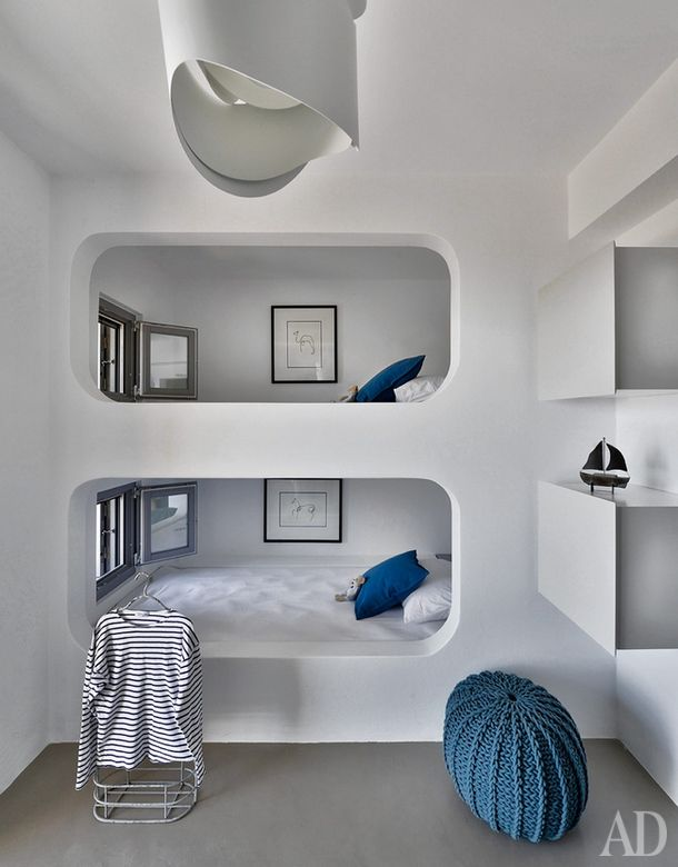 Sailor-style Children's Rooms