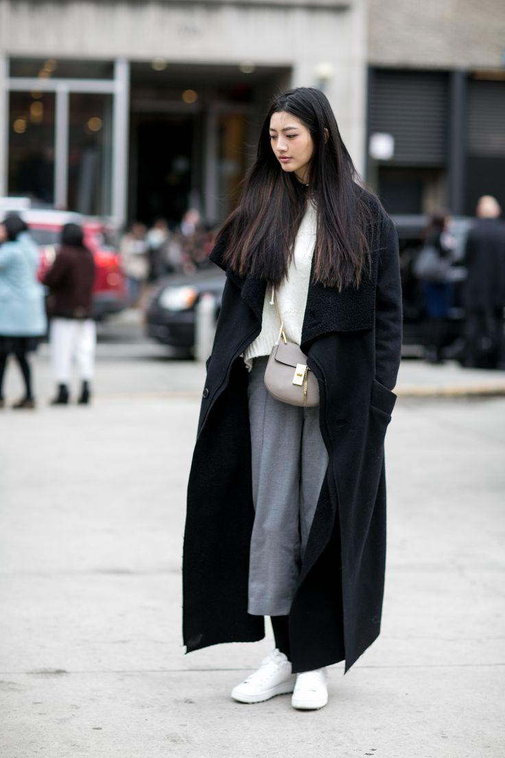 Best 25 black shearling coat ideas on pinterest black for Style minimaliste