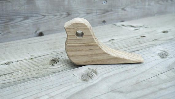 Hey, I found this really awesome Etsy listing at https://www.etsy.com/ca/listing/556928637/wooden-door-stop-bird-door-stop